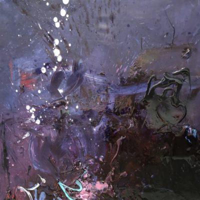 116 x 89 CM - HUILE SUR TOILE