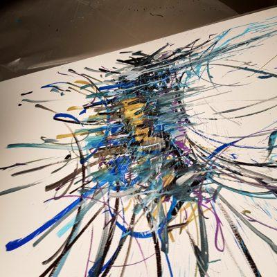 146x97 acrylique