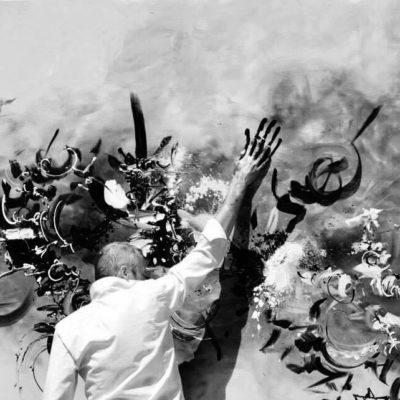 Hommage aux victimes de la Shoah - 500x200 cm